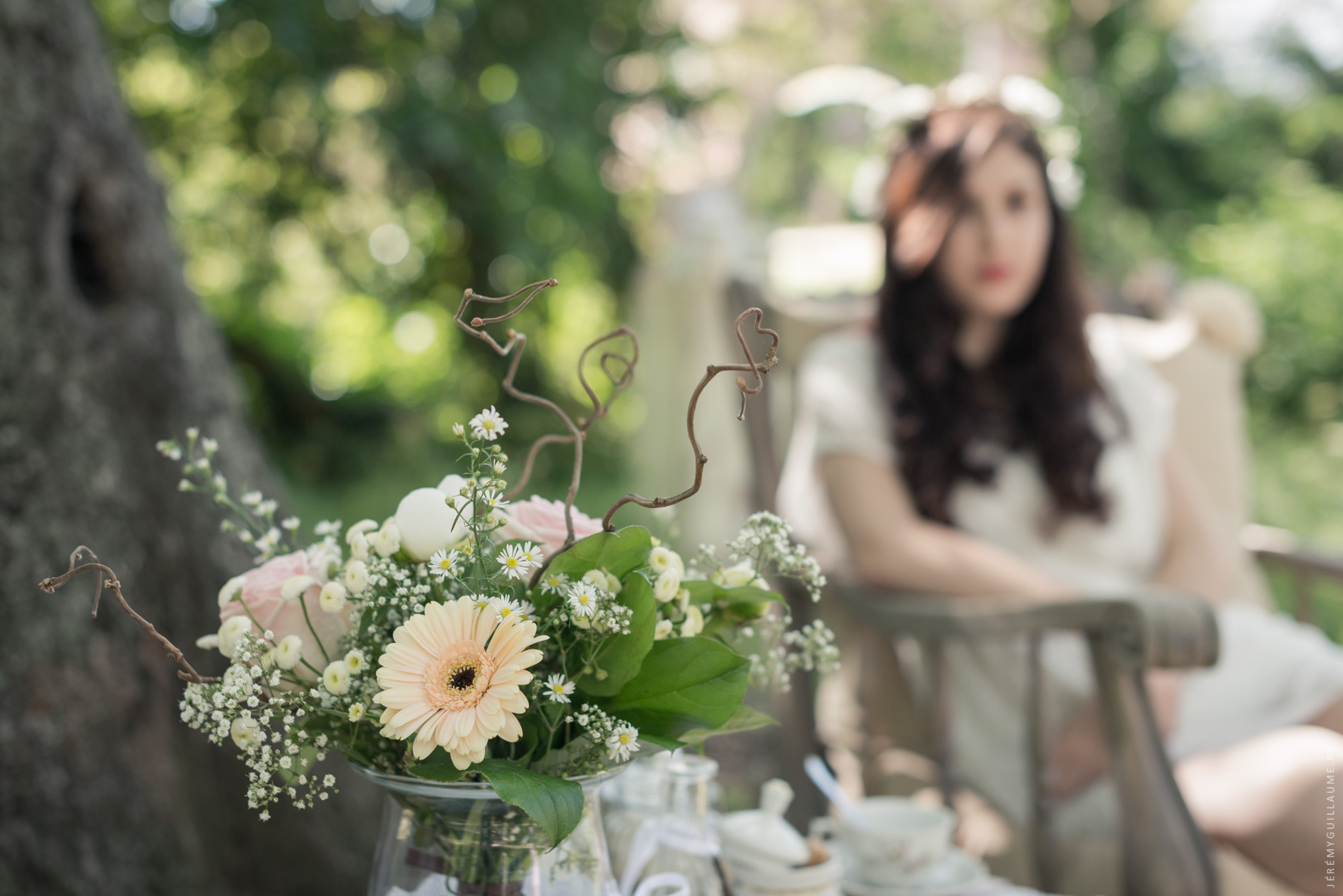 L'heure du thé - French Wedding Style