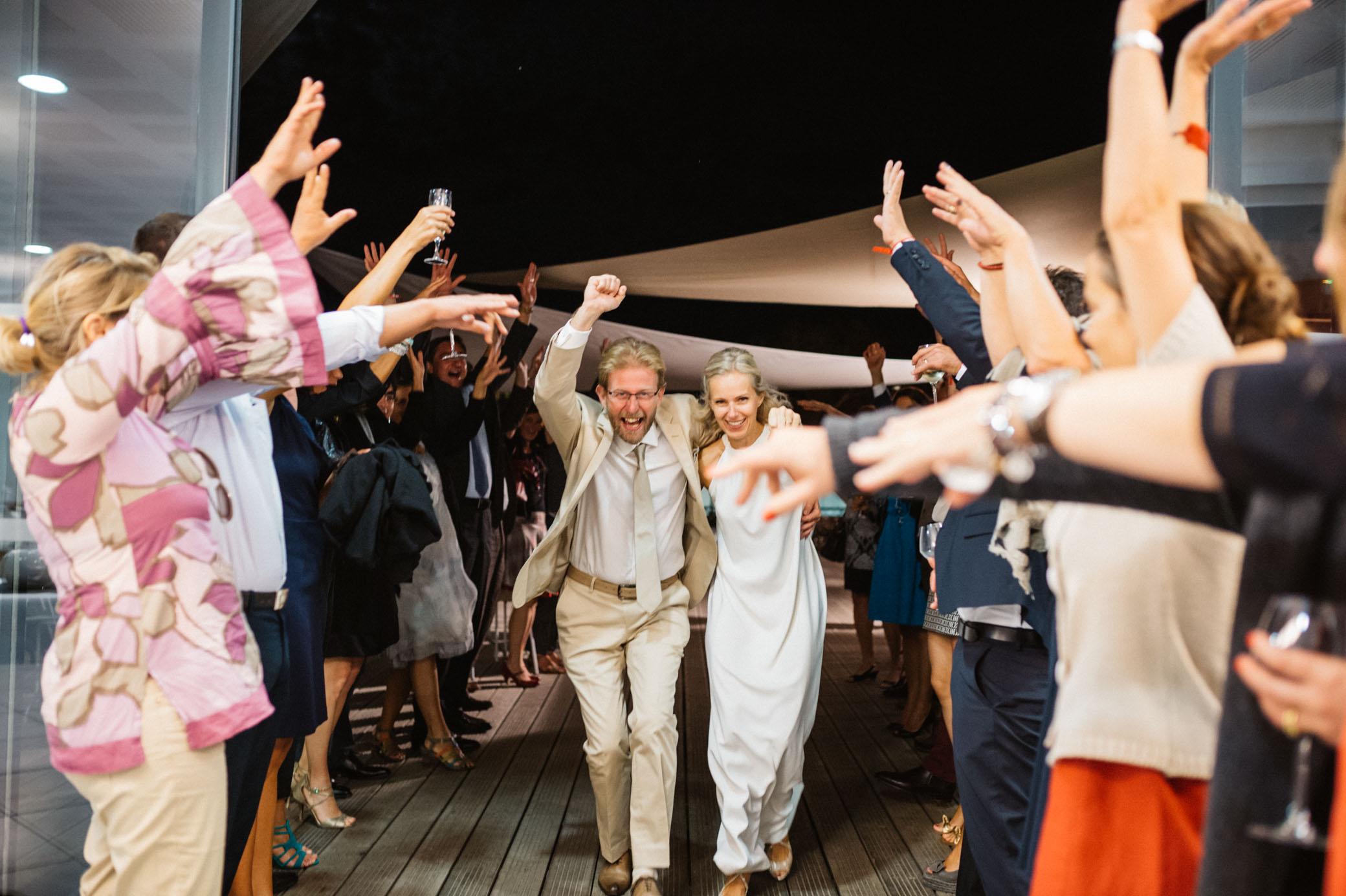 Un mariage entre amis à la plage | Valérie & Jules