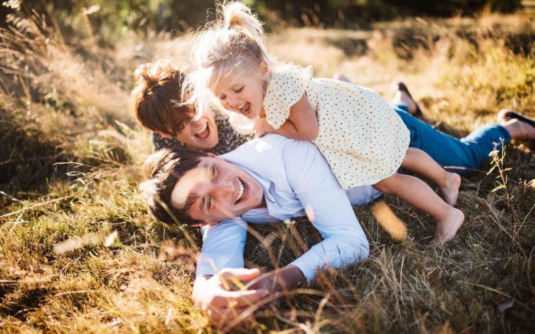 Une séance famille dans la nature
